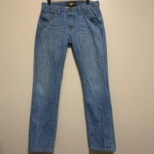 Lucky Brand mens 221 original straight leg jeans